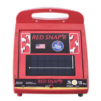 Red Snapper Fence Charger Red Snap R 10 Acre Ac Solid State Electric Fence Charger Fencing Livestock Supplies Agriculture Forestry Solar Powered Fence Chargers Zareba The Best Inspiration