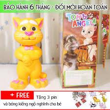 Mèo Tom kể chuyện biết hát thông minh vàng - bongbongdep.com