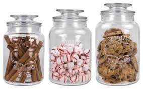 home basics 3 piece canister set with