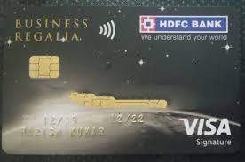 hdfc bank regalia regalia first