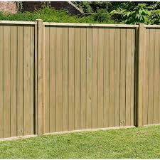 Forest Garden Pressure Treated Vertical Tongue And Groove Fence Panel
