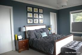 light blue walls grey carpet bedroom