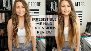 IRRESISTIBLE ME CLIP IN HAIR EXTENSIONS ...
