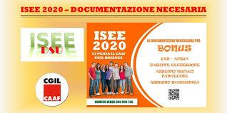 I.S.E.E. 2020 - DOCUMENTI NECESSARI PER LA DICHIARAZIONE - SPI