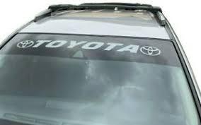 Vinyl Sticker Toyota Window Decal 40 X3 5 Large Banner Tundra Rav 4 Graphics Ebay