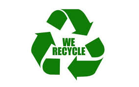 Recycle Decal Trash Can Recycle Decal Recycle Sticker Think Etsy