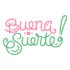 Buena suerte buena suerte español - Descargar PNG/SVG transparente
