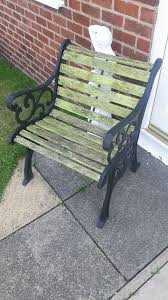 cast iron bench ends garden bench