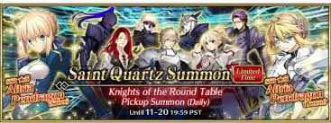 knights of the round table summoning