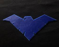 Dc Nightwing Logo Emblem Blue Car Window Sticker Decal 5 Robin Batman Boy