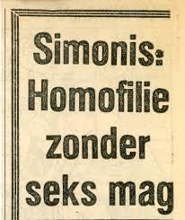 Simonis acusado de homófobo