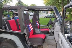 jeep wrangler tj cubierta de asiento de