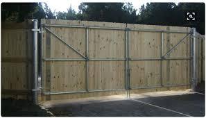 Rv Gate Wooden Fence Gate Wood Fence Gates Wood Gates Driveway