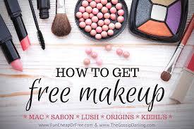 get free makeup mac sabon lush