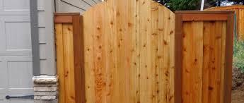 5ft Custom Wood Gate West Coast Fencing
