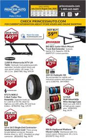princess auto flyer items on