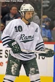 Roseau Rams' Aaron Ness   Roseau, Hockey, Ness