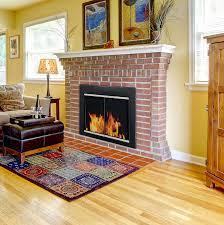 pleasant hearth fireplace door