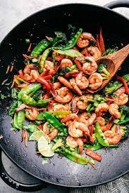 Garlic Shrimp Stir Fry Recipe ...
