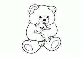 Tổng hợp các bức tranh tô màu con gấu đẹp nhất cho bé - Zicxa hình ảnh