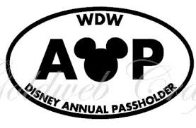Disney Annual Pass Stickers River Daves Place