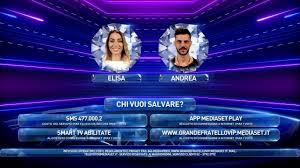 Grande Fratello Vip 4: Andrea e Elisa in nomination