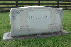 """Ada """"Addie"""" Scott Sullivan (1872-1948) - Find A Grave Memorial"""