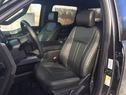 xlt black katzkin leather seat cover