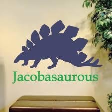 Dinosaur Name Kids Teen Wall Decals Alphabet Garden Decals Modern Sticker Co