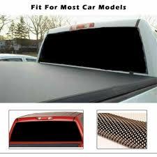 Waterproof Pick Up Black Tint Sticker Truck Rear Window Decal Sun Shade 65 X22 Ebay