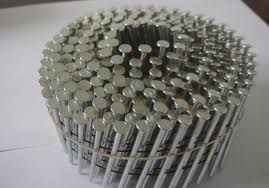 nails hot galvanized coil ring shank