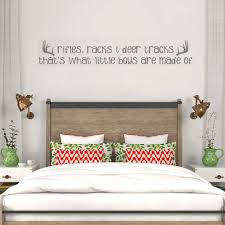 Rifles Racks Deer Tracks Wall Decals Little Boys Rooms Home Decor Wall Sticker Quote Vinyl Removable Bedroom Wallpapers Lc121 Wall Sticker Quotes Stickers Quoteswall Decals Aliexpress