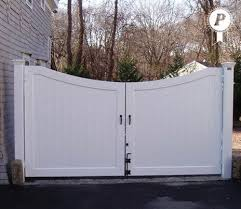 Perfection Vinyl Ultra Privacy Fence Vinyl Fence Vinyl Gates Double Gate