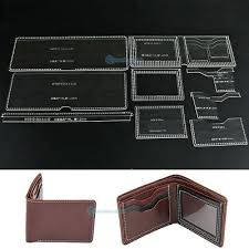 leather bifold wallet card