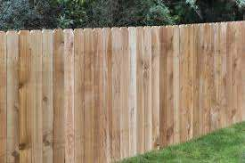 4 X 8 Cedar Dog Ear Wood Fence Panel At Menards