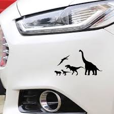 Dinosaur Car Decal Sticker Set Dinolovestore