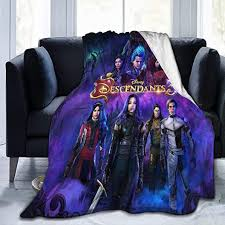 Amazon Com Descendants 3 Throw Blanket Digital Printed Ultra Soft Micro Fleece Blanket Warm Lightweight Versatile For All Seasons Perfect For Bed Sofa Couch 50 X40 Home Kitchen