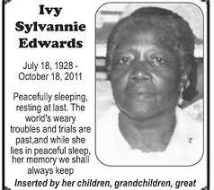 Ivy Edwards - Stabroek News
