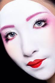 ima make up period makeup modern geisha