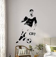 Football Large Vinyl Wall Art Sticker Classroom Boys Room Gym Decal Soccer Ball Home Garden Children S Bedroom Sports Decor Decals Stickers Vinyl Art