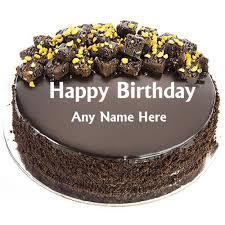 happy birthday chocolate cake edit