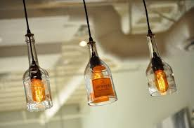 whiskey bottle pendant lights easy