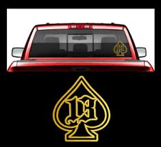 Ace Of Spades 13 Window Laptop Decal Sticker Death Card Gambling Spade Truck Car Ebay