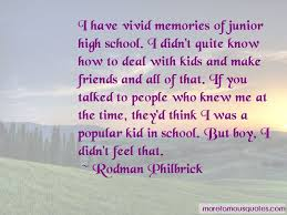 quotes about high school memories friends top high school