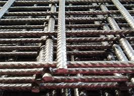 6x6 Reinforcing Welded Wire Mesh Panels Low Carton Steel With 10 Gauge Wire