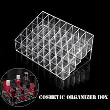 cosmetic organizer clear diy makeup