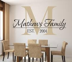Family Names Lovely Decals World