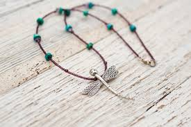free spirit silver dragonfly necklace