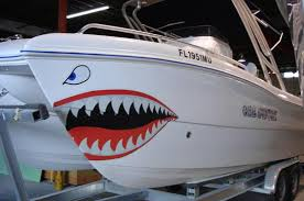 Custom Boat Wrap Designs Decals Lettering Cost Design Print Plus