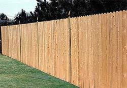 Solid Board Fence Solid Wood Fence Solid Cedar Fence At Academy